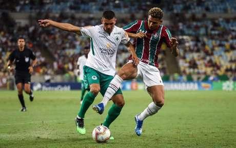 Felippe Cardoso testou positivo para a Covid-19 e será desfalque do Fluminense (Foto: LUCAS MERÇON/FLUMINENSE F.C.)