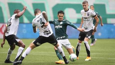 Verdão e Vozão se enfrentam pelo Brasileirão na Arena Castelão (Foto: Cesar Greco/Palmeiras)
