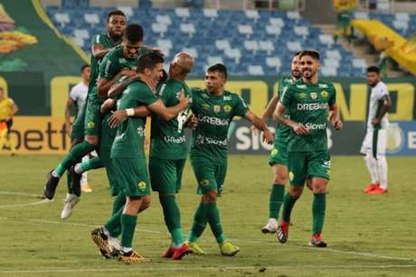 O Cuiabá garantiu vaga na primeira divisão do Campeonato Brasileiro 2021 (AssCom Dourado)