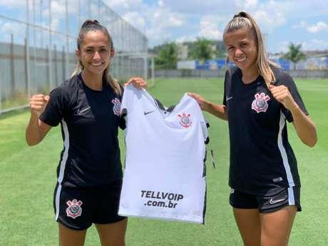 Tell Voip irá patrocinar o time feminino do Timão (Divulgação)