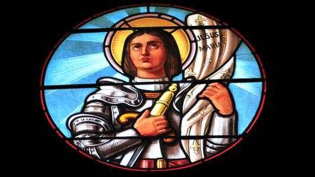 Hoje, há representações de Joana d'Arc por toda a França