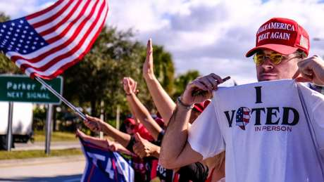 Moradores de Palm Beach votaram esmagadoramente em Trump na eleição de novembro passado.