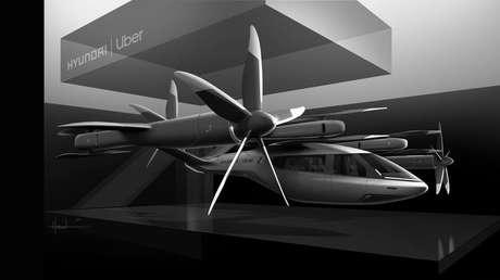 Parceria entre Hyundai e Uber prevê o desenvolvimento de um táxi aéreo