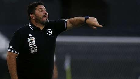 Eduardo Barroca é o treinador do Botafogo (Foto: Vitor Silva/Botafogo)