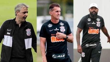 Montagem Lance! Fotos: Rodrigo Coca / Ag. Corinthians