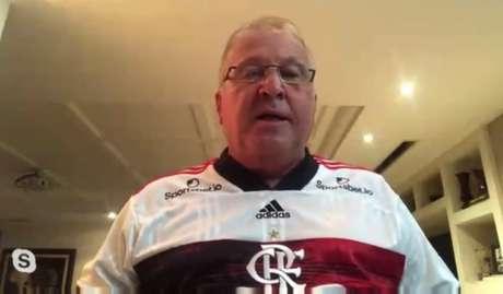 Zico falou sobre o peso da saída de Jorge Jesus (Foto: Reprodução / YouTube)