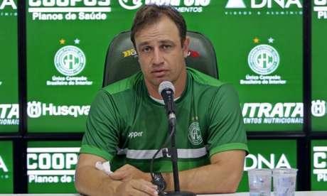 Felipe Conceição tem contrato com o Guarani até o fim de 2021, mas não definiu se vai continuar no Bugre- (Divulgação/Guarani)