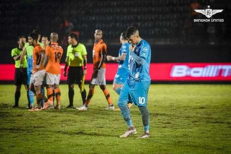 Vander é um dos destaques do Bangkok United (Foto: Divulgação / Bangkok United)