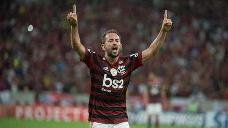 Everton Ribeiro defende o Flamengo desde 2017 e conquistou sete taças pelo clube (Foto: Alexandre Vidal/Flamengo)