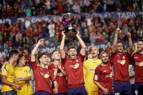 Osasuna venceu a segunda divisão espanhola de 2018-2019 (Foto: Divulgação/La Liga)
