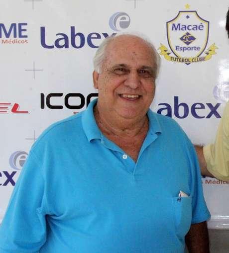 Mirinho é presidente do Macaé Esporte (Foto: Divulgação Macaé)