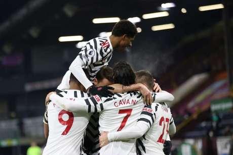 Manchester United volta a jogar nesta terça-feira (Foto: CLIVE BRUNSKILL / POOL / AFP)