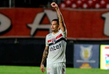Luciano chegou nesta temporada no Tricolor, após passagem pelo Grêmio (Foto:RENATO GIZZI/Photo Premium)