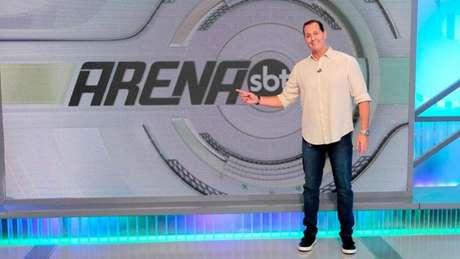"""Benjamin Back durante o """"Arena SBT"""" (Divulgação / SBT)"""