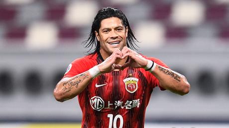 Flamengo entrou na briga pelo atacante Hulk Foto: Divulgação