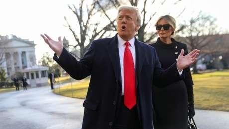 Donald Trump pode ter deixado a Casa Branca, mas continua a lançar uma longa sombra sobre o Partido Republicano