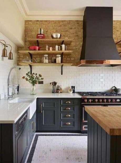 4. Modelos de armários vintage para decoração de cozinha estilo industrial – Foto: Dear Designer's Blog