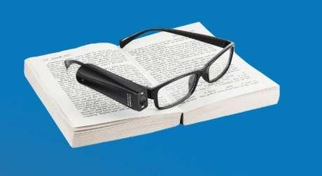 Dispositivo auxilia pessoas com deficiência visual durante leituraDispositivo auxilia pessoas com deficiência visual durante leitura
