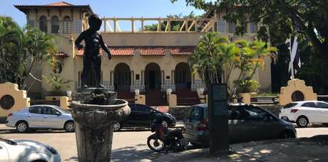 General Severiano é a sede social do Botafogo (Foto: Divulgação)