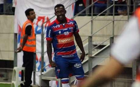 Yuri César estava defendendo o Fortaleza desde março e teve boas atuações (F: Leonardo Moreira / Fortaleza)