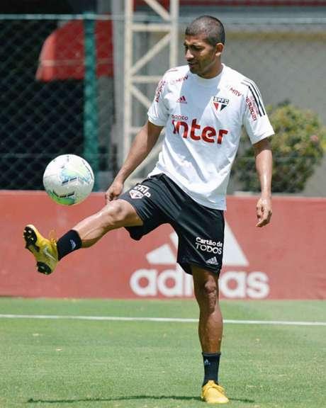 Último jogo de Rojas foi em outubro de 2018 (Foto: Divulgação/São Paulo)