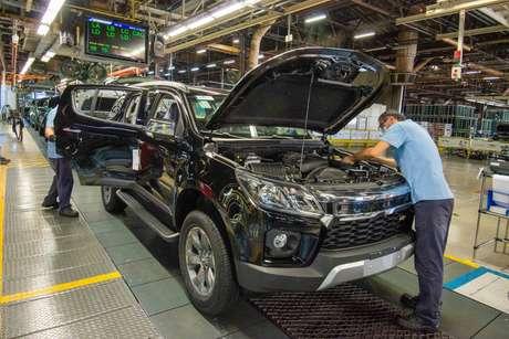 Picape S10 e o SUV Trailblazer são os únicos modelos fabricados na planta de São José dos Campos (SP).