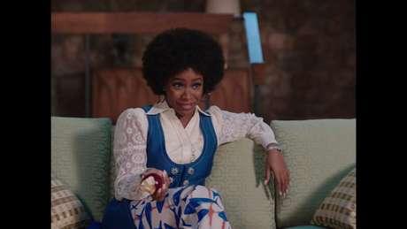 Monica Rambeau, com um afro que deixaria a Pam Grier com inveja.