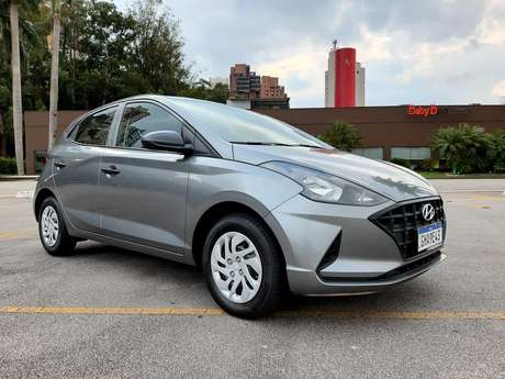 Hyundai HB20 Sense 1.0: versão mais vendida da nova geração foi lançada em junho.