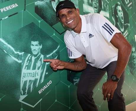 Rivaldo, ex-jogador do Palmeiras, aposta em uma vitória alviverde na Liberta (Foto: Agência Palmeiras/Divulgação)