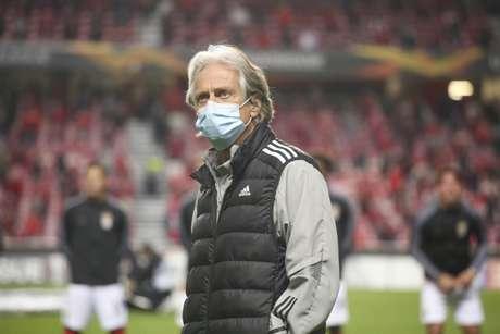 Jorge Jesus é o técnico do Benfica (Foto: Divulgação / Site oficial do Benfica)