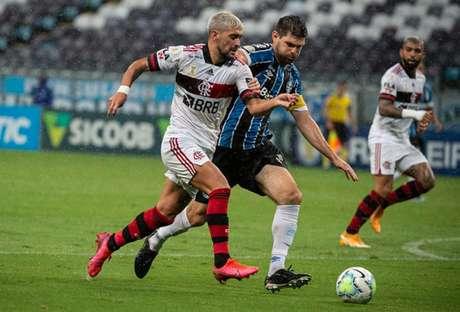 O Grêmio perdeu para o Flamengo por 4 a 2 em Porto Alegre (Foto:  Alexandre Vidal / Flamengo)