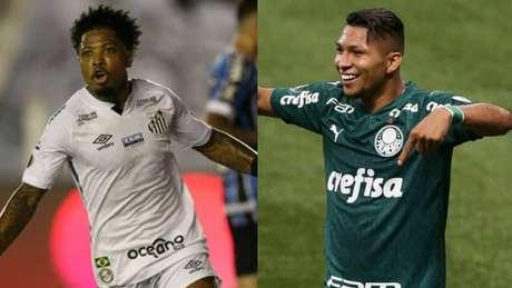 A briga pela artilharia é mais um grande fator da grande final (Montagem Lance! Fotos: AFP; Cesar Greco/Palmeiras)