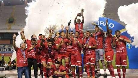 Equipe goiana construiu larga vantagem já no primeiro confronto com o Remo (Divulgação/Vila Nova)