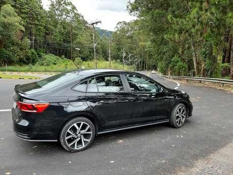 """Com identidade forte, Virtus GTS é um dos """"filhos"""" preferidos da """"mãe"""" Volkswagen."""