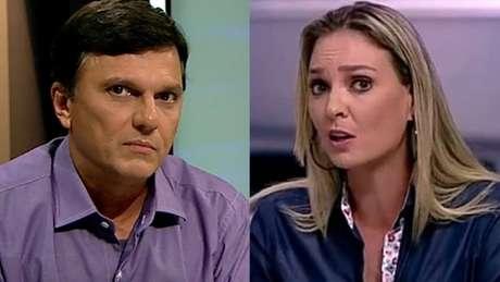 Mauro e Nadine discutiram nas redes sociais (Reprodução de TV)