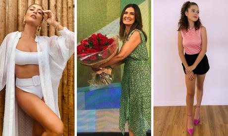 Juliana Paes, Fátima Bernardes e Maisa: as mais lidas do mês (Fotos: Reprodução/Instagram)