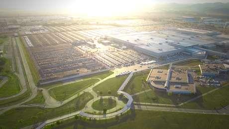 Fábrica da Stellantis em Porto Real: por enquanto, fabrica modelos da Citroën e da Peugeot.