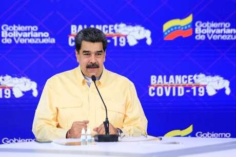 Presidente da Venezuela, Nicolás Maduro, em Caracas 24/01/2021 Palácio de Miraflores/Divulgação via REUTERS