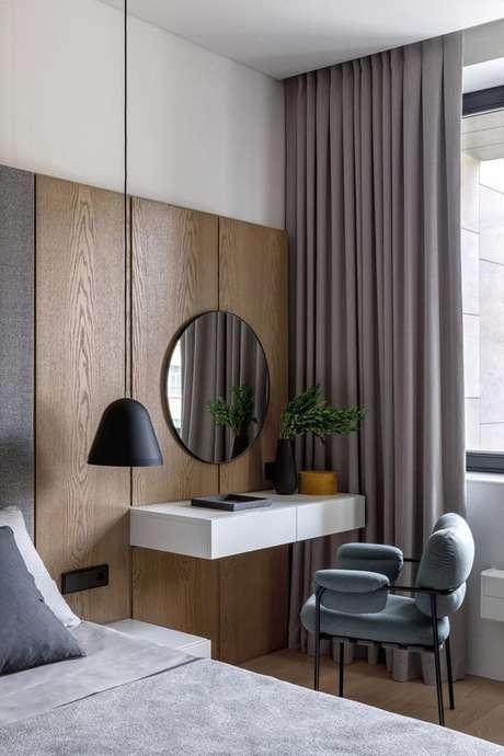 3. Cadeira para penteadeira suspensa no quarto moderno – VIa: Ad Russia