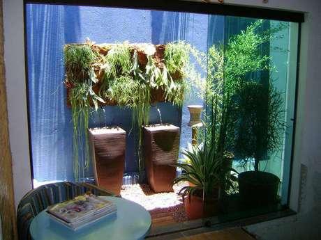 26. Nada como o sol para dar mais forças para as plantas num jardim de inverno
