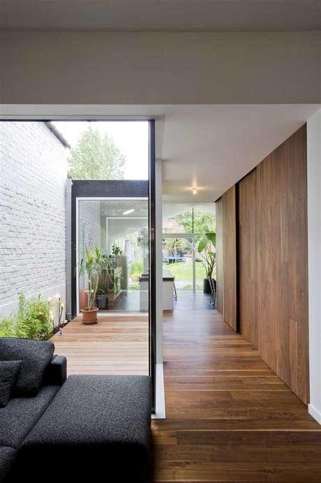 40. Jardim de inverno na sala com plantas – Via: Pinterest