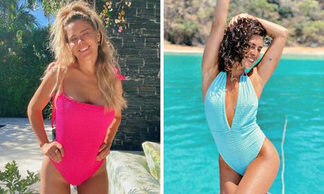 Carolina Dieckmann e Fernanda Paes Leme (Fotos: Reprodução/Instagram)