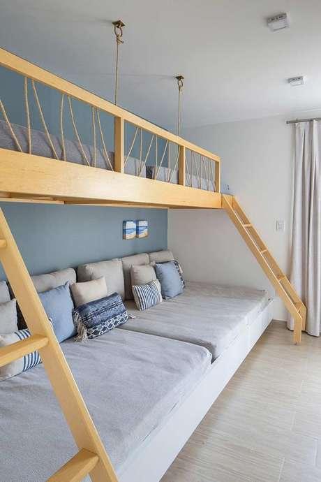 19. Beliche de madeira moderna – Via: Casa de Valentina
