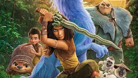 Raya e o Último Dragão faz companhia à série Falcão e o Soldado Invernal no Disney+