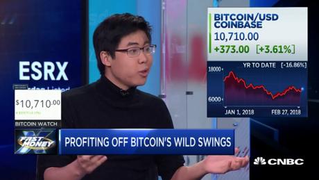 Stefan He Qin em entrevista à CNBC em 2018