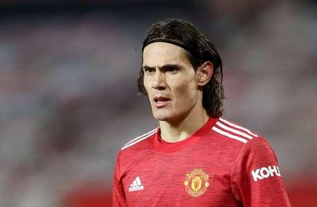 Edinson Cavani, do Manchester United  29/12/2020 Pool via REUTERS/Martin Rickett