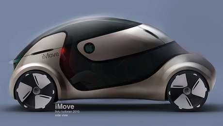 Projeções na internet imaginam futuro carro da Apple.