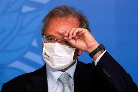 Ministro da Economia, Paulo Guedes. 07/10/2020. REUTERS/Ueslei Marcelino