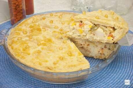 Guia da Cozinha - Empadão de peixe perfeito para todas as refeições