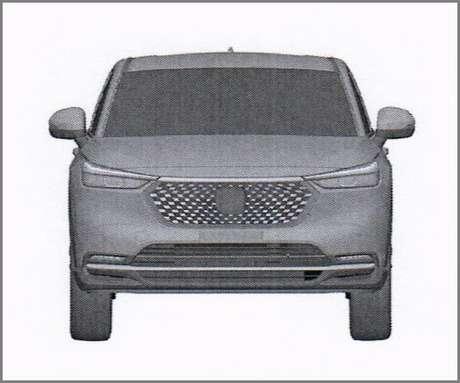 Grade dianteira do novo Honda HR-V lembra a do antigo Hyundai HB20.